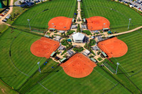 5-11-2012 Aerial view of an Alabama Softball Tournament at the Gulf Shores, AL Sports Complex.