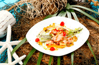 10/14/2014 Lionfish Dishes by Chef Chris Sherrill at the Flora-Bama Yacht Club.