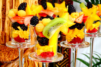 Vincent Henderson's fresh fruit desserts for the garden party - Zalea Magazine