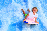 Boarding at a water Park -2012 Gulf Coast Vacation Guide for Gulf Shores and Orange Beach, AL
